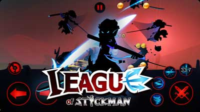 Игра Stickman Warriors 3 для Android