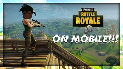 Fortnite Battle Royale Mobile 6.20.0 2019 скачать APK на Android